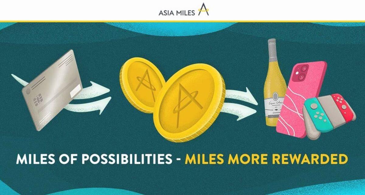 Asia Miles Transferbonus