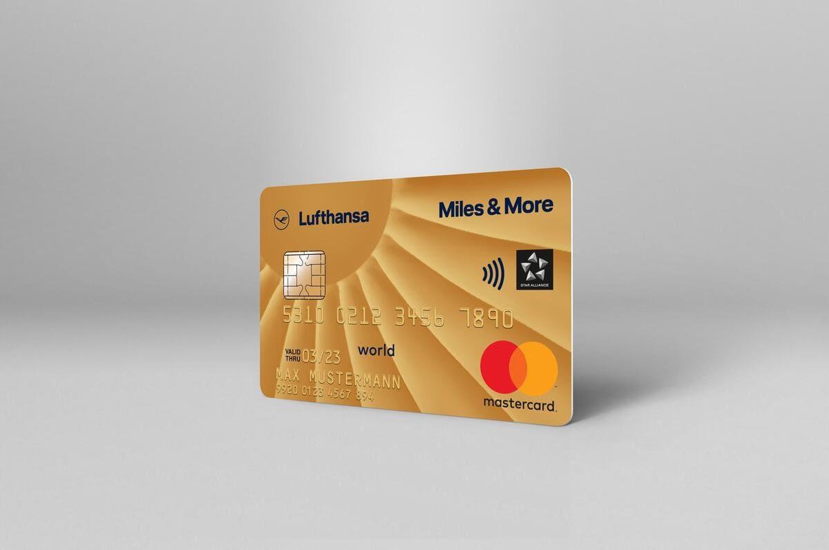 Miles & More Gold Kreditkarte