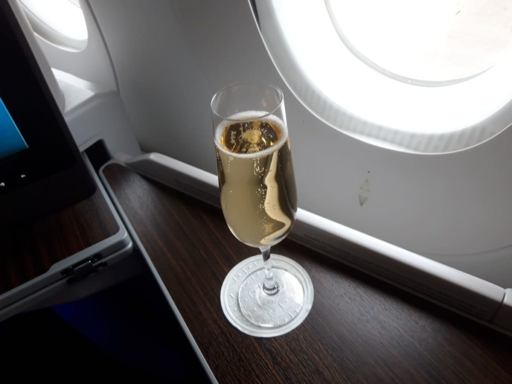 Qatar Airways Business Class Menu