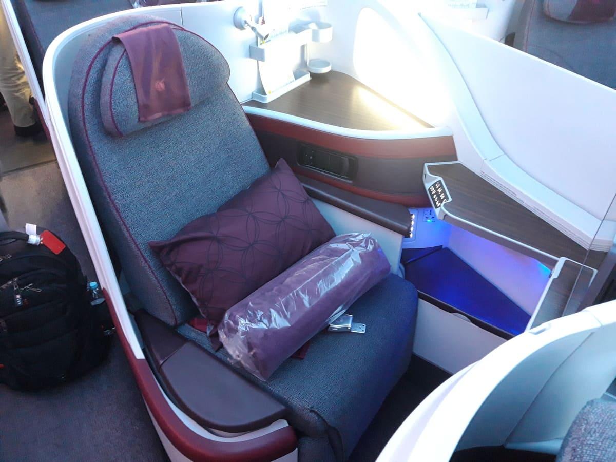 Qatar Airways Business Class A350