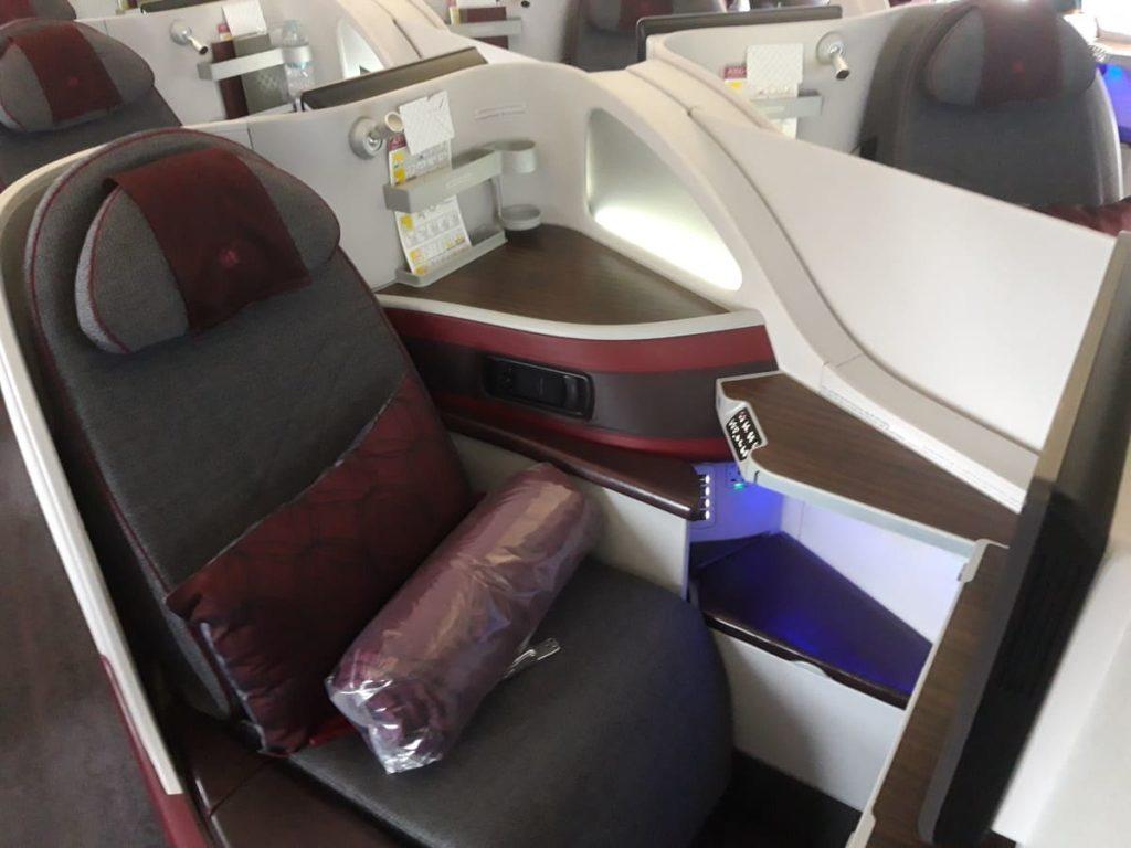 Qatar Airways Business Class Sitz