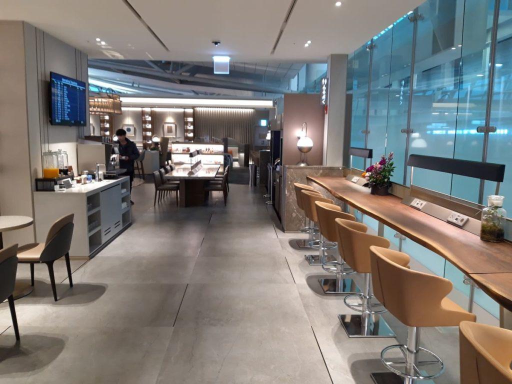 Silverkris Lounge Seoul Arbeitsbereich
