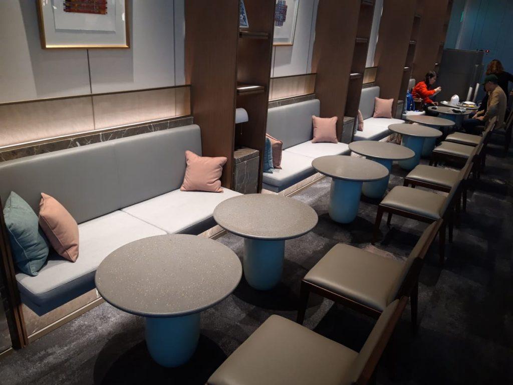 Silverkris Lounge Seoul Speisebereich