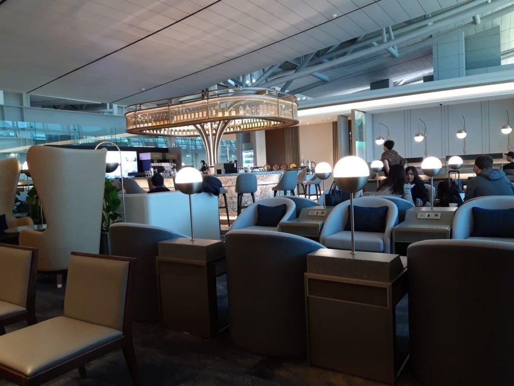 Silverkris Lounge Seoul Loungesessel