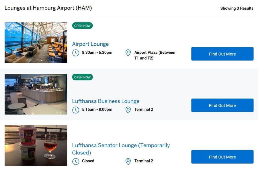 Lufthansa Lounge Zugang mit AMEX