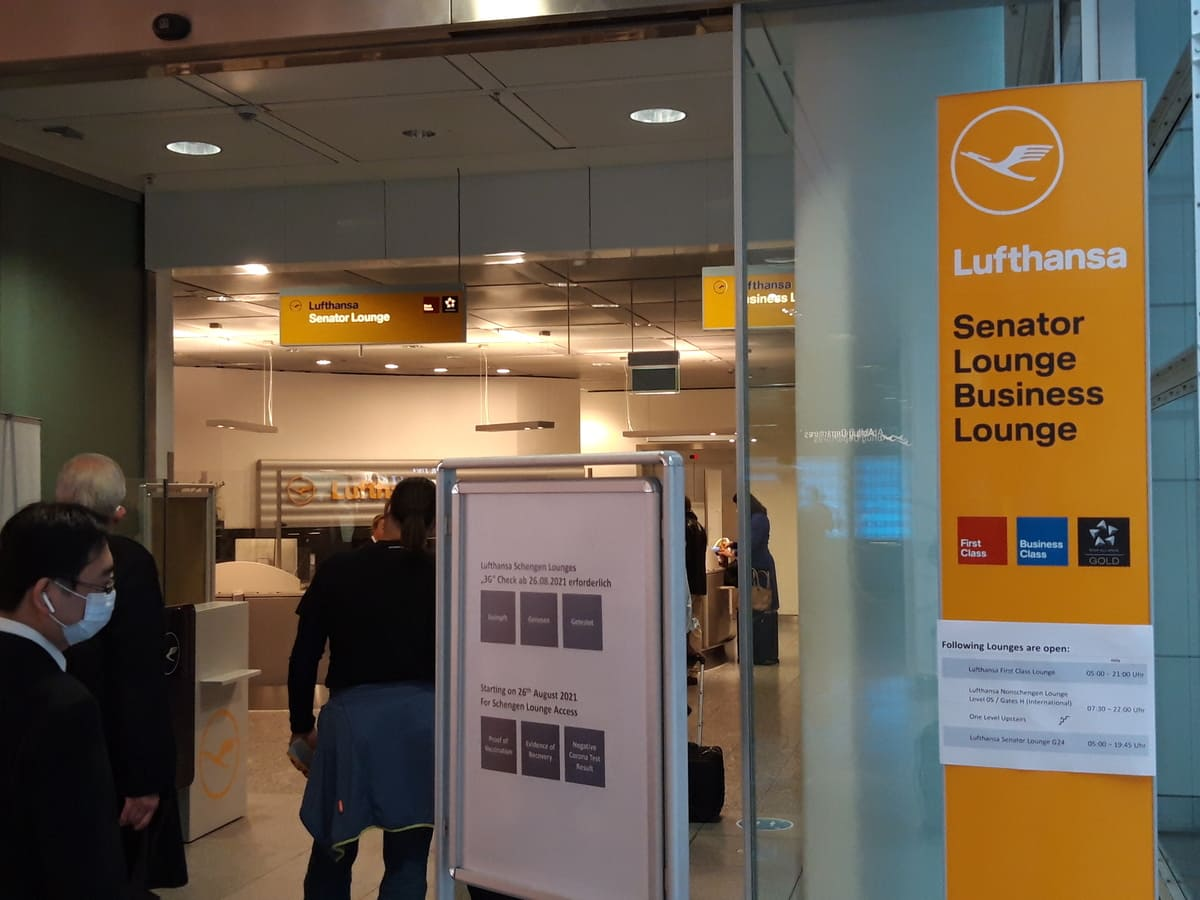 Lufthansa Senator Lounge München G28